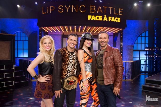 Dans Lip Sync Battle : face à face,... (fournie par MusiquePlus)