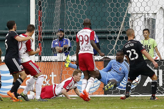 Dax McCarty a marqué à la 72e minute.... (Photo Geoff Burke, USA TODAY Sports)