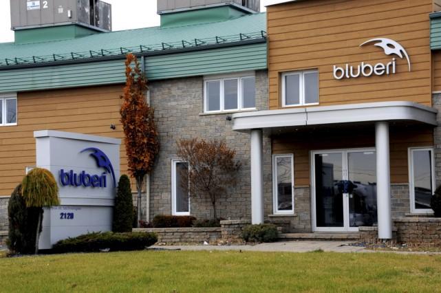 L'entreprise drummondvilloise Blueberi fermerait ses portes, jetant 150travailleurs... (Collaboration spéciale, Éric Beaupré)