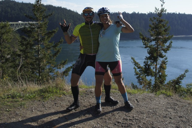 Justine et Jansen découvrent des paysages fantastiques....