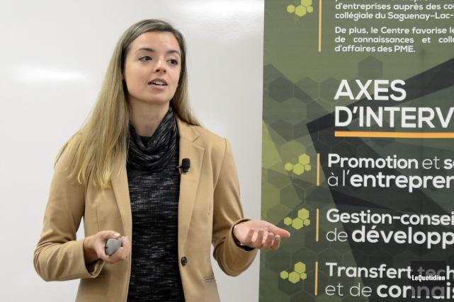 Jessika Roussy, de Mode Choc, parlera des stratégies... (Archives Le Quotidien)