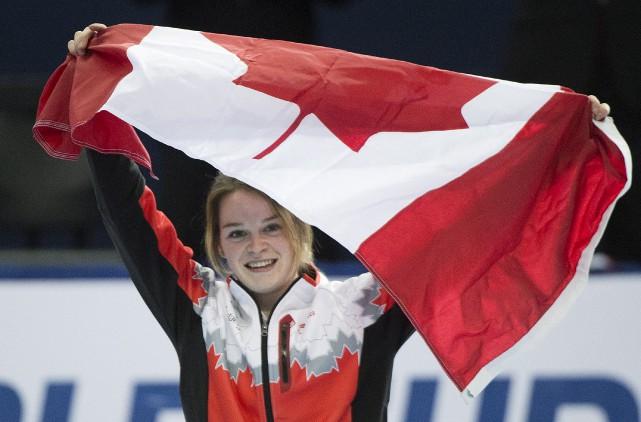 La Sherbrookoise âgée de 20ans Kim Boutin a... (La Presse Canadienne)
