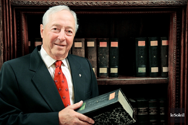 L'actuel lieutenant-gouverneur, J. Michel Doyon, a été nommé... (Photothèque Le Soleil, Erick Labbé)