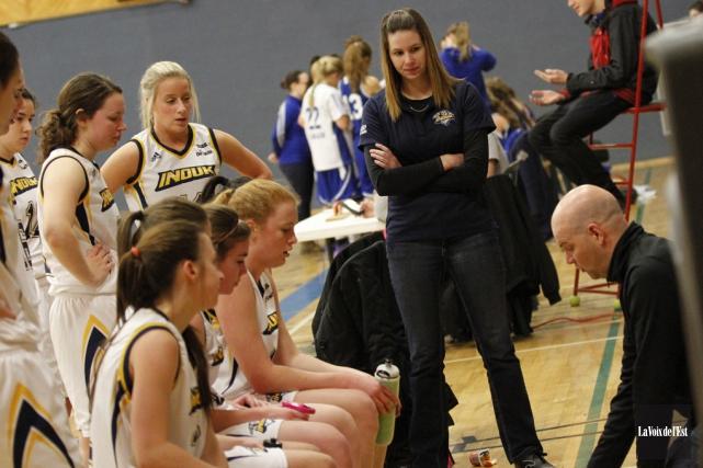 Les succès de l'équipe de basketball féminin des... (Archives La Voix de l'Est)
