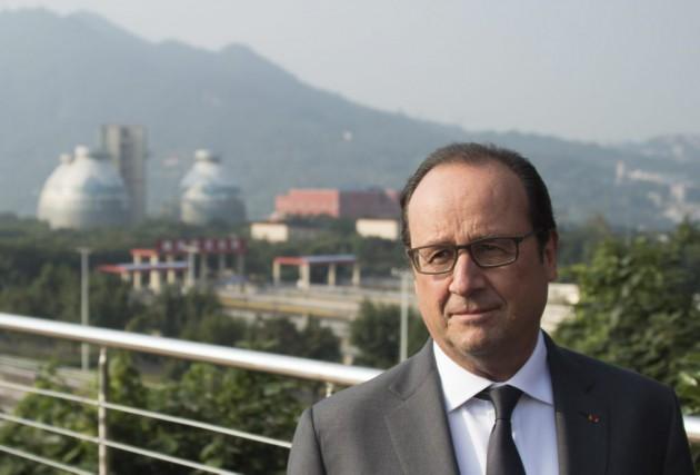 «Je suis en Chine pour obtenir des autorités... (AFP, Johannes Eisele)