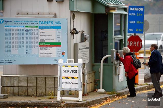 Les usagers de la traverse pourront enfin prendre... (Photothèque Le Soleil, Yan Doublet)