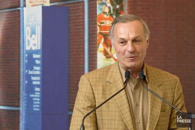 Guy Lafleur participait au forum citoyen de Thurso... (Alain Roberge, Archives La Presse)