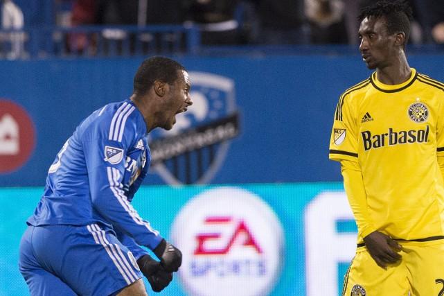 Le capitaine Patrice Bernier a marqué un autre... (La Presse Canadienne)