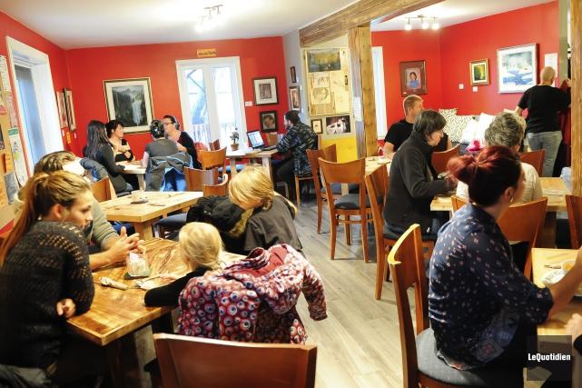 Le café est en nomination au prochain gala... (Photo Le Quotidien, Gimmy Desbiens)