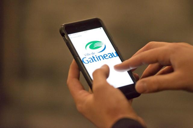 En matière de technologies de l'information, Gatineau n'accuse... (Martin Roy, LeDroit)
