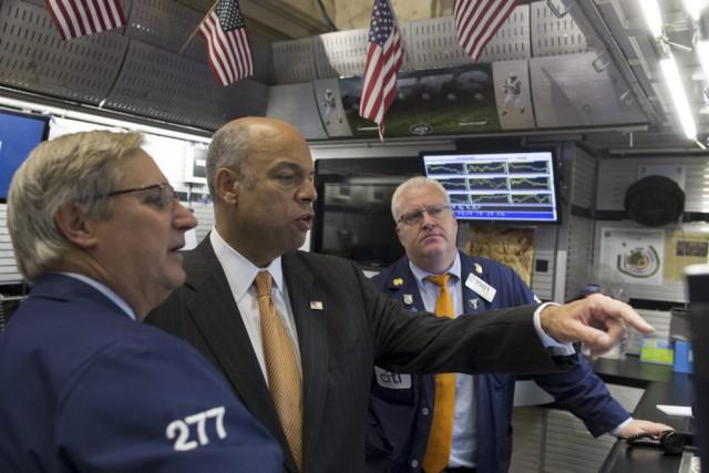 La Bourse de New York «continue son récent... (PHOTO BRENDAN MCDERMID, REUTERS)