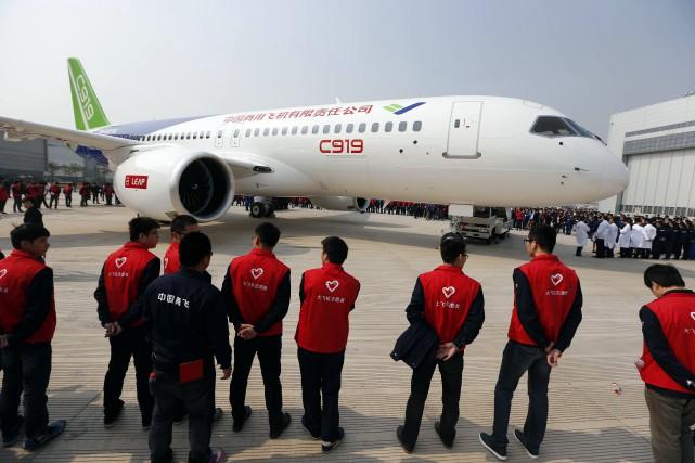 «La sortie du C919 marque une étape importante... (Photo AFP)