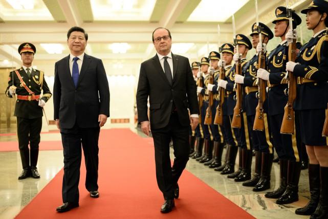 L'accord a été annoncé dans une déclaration commune... (PHOTO STÉPHANE DE SAKUTIN, AFP)