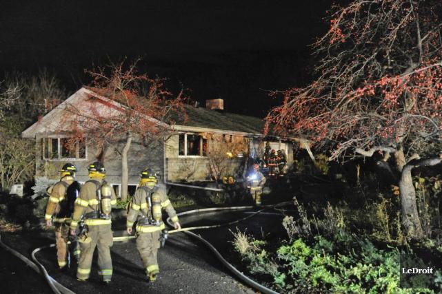 Personne n'a été blessé dans l'incendie de cette... (Martin Roy, LeDroit)