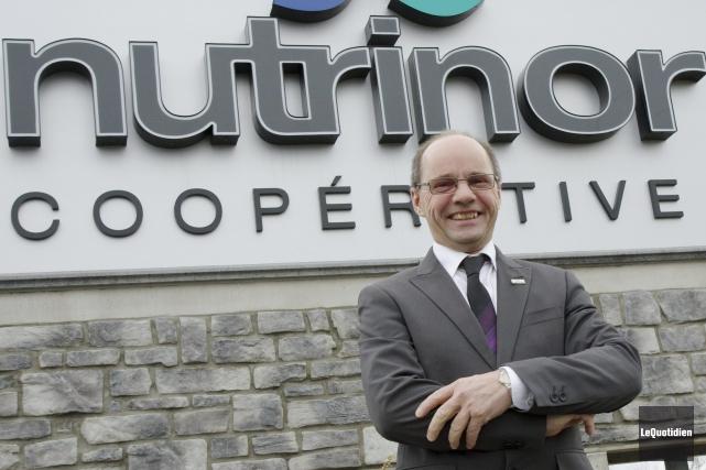 Jean Lavoie, président de Nutrinor... ((Photo Le Quotidien-Rocket Lavoie))