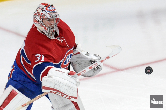 Carey Price a affiché un dossier de 7-2-0 avec... (PHOTO BERNARD BRAULT, ARCHIVES LA PRESSE)