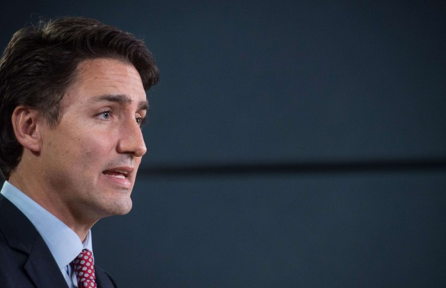 À Paris, Justin Trudeau devrait appuyer l'idée d'un... (photoNICHOLAS KAMM, archives agence france-presse)