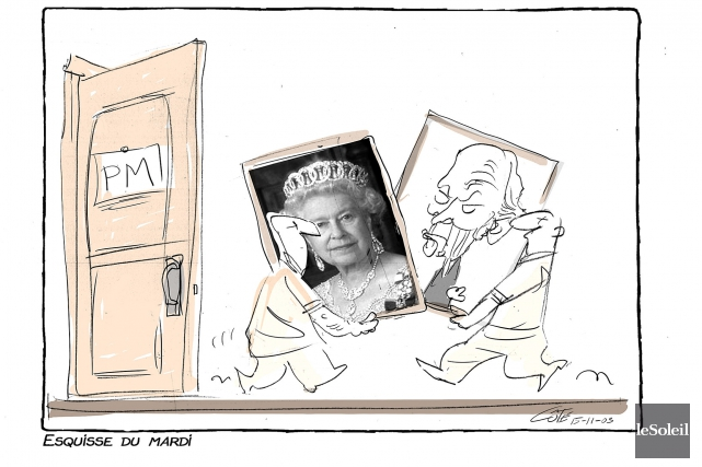 Caricature du mardi 3 novembre 2015... (Le Soleil, André-Philippe Côté)