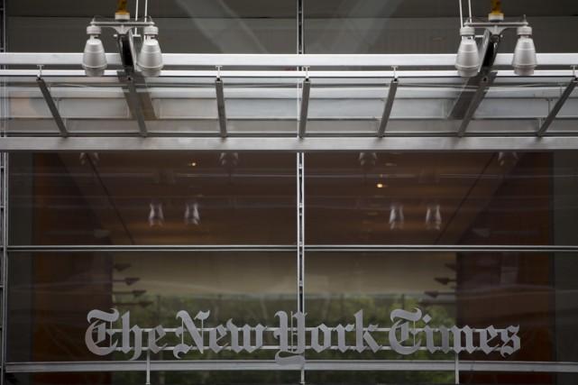 Le président et directeur de la publication duNew York Times, Arthur... (Photo Scott Eells, Bloomberg)