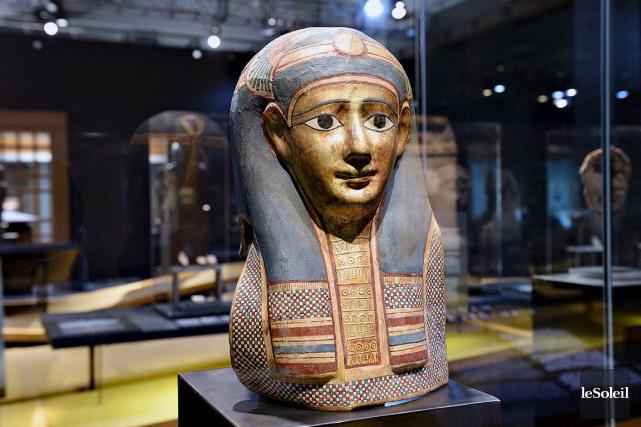 L'exposition Égypte magique au Musée de la civilisation... (Photothèque Le Soleil, Patrice Laroche)