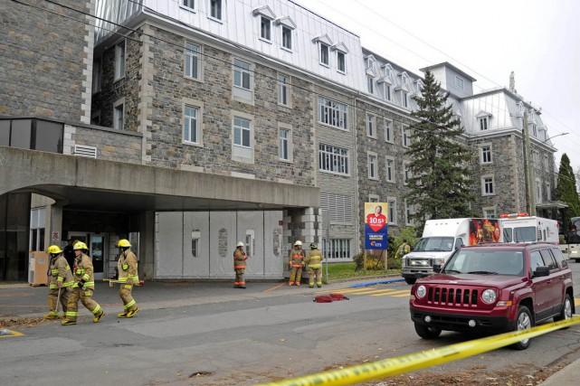 Les pompiers de Trois-Rivières sont rapidement venus à... (Andréanne Lemire)