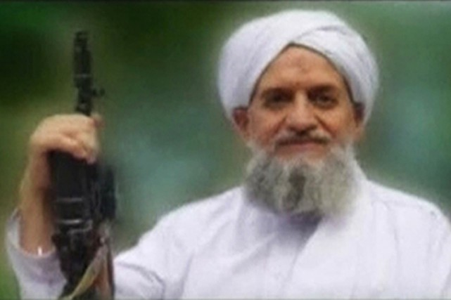 Ayman al-Zawahiri invite notamment à «intensifier les étapes sur... (PHOTO ARCHIVES REUTERS)