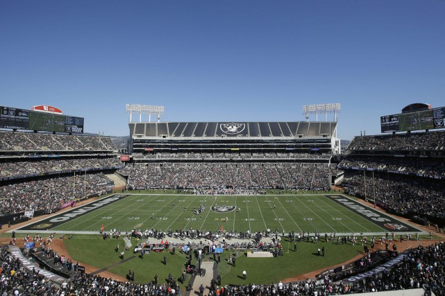 Les Raiders disent avoir besoin de 400 millions... (Photo Marcio Jose Sanchez, archives AP)