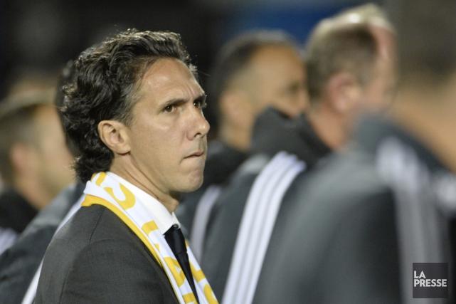 L'entraîneur-chef par intérim de l'Impact de Montréal, Mauro... (Bernard Brault, La Presse)