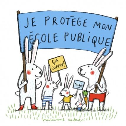 Les lapins sympathiques de l'auteure et illustratrice Marianne... (Illustration Marianne Dubuc)