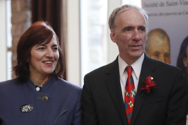 Christiane Gourde-Bureau, conjointe de l'ex-maire Marc Bureau, a... (Simon Séguin-Bertrand, archives LeDroit)