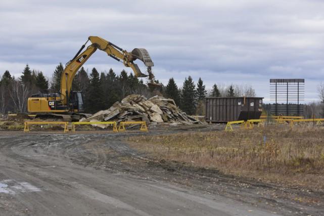 La Ville de Shawinigan procède actuellement au démantèlement... (François Gervais)