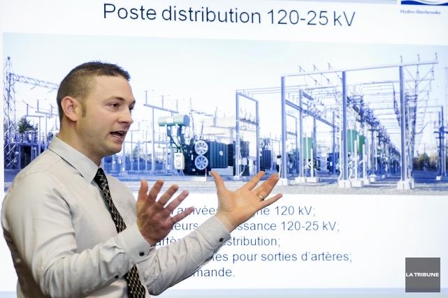Mathieu Valiquette, ingénieur de projets pour Hydro-Sherbrooke, a... (Imacom, Jocelyn Riendeau)