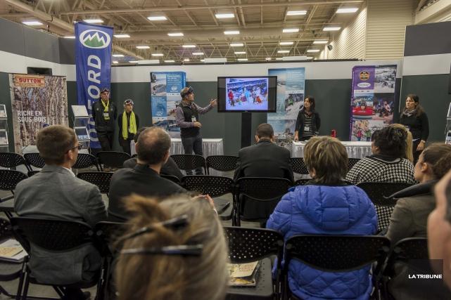 L'Association des stations de ski du Québec a... (Imacom, Frédéric Côté)