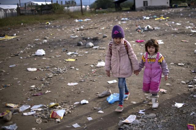 Lors des conflits, l'absence d'enregistrement de la naissance... (PHOTO AFP)