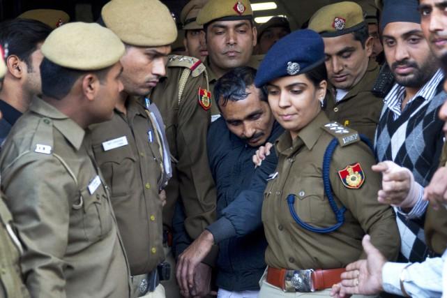 Shiv Kumar Yadav (au centre) avait été reconnu... (PHOTO SAURABH DAS, ARCHIVES AP)