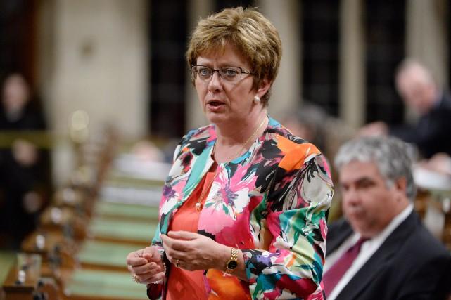 Plusieurs sources conservatrices estiment que Diane Finley est... (PHOTOADRIAN WYLD, LA PRESSE CANADIENNE)
