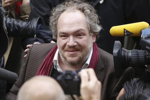 Boussoleest le 10e livre de Mathias Enard, qui... (AFP, Thomas Samson)