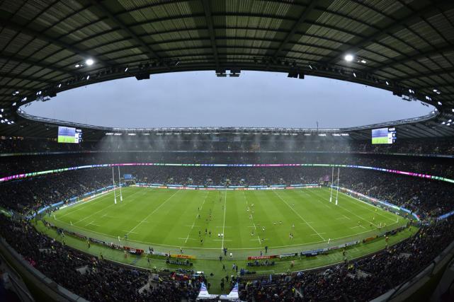 Le stade de Twickenham a accueilli des matchs... (Archives AFP)