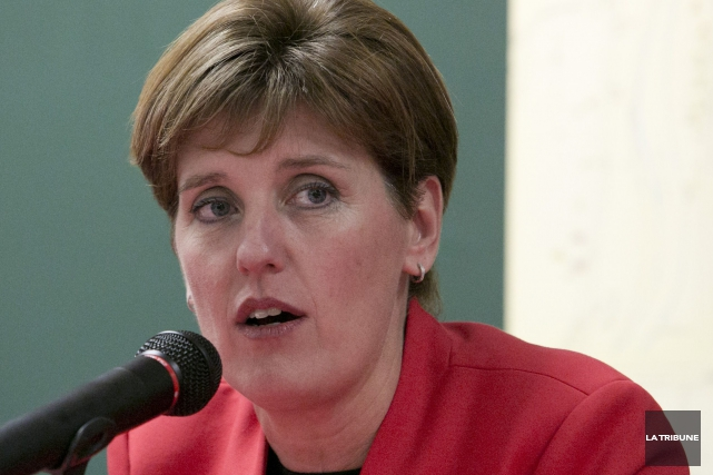Marie-Claude Bibeau... (Archives La Tribune)
