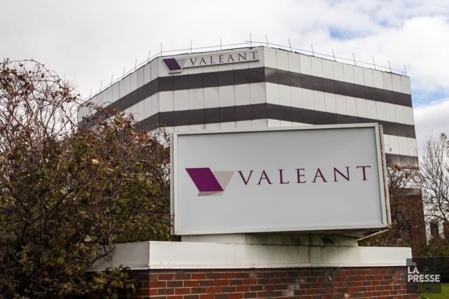Le siège social de la société pharmaceutique Valeant,... (PHOTO HUGO-SÉBASTIEN AUBERT, ARCHIVES LA PRESSE)