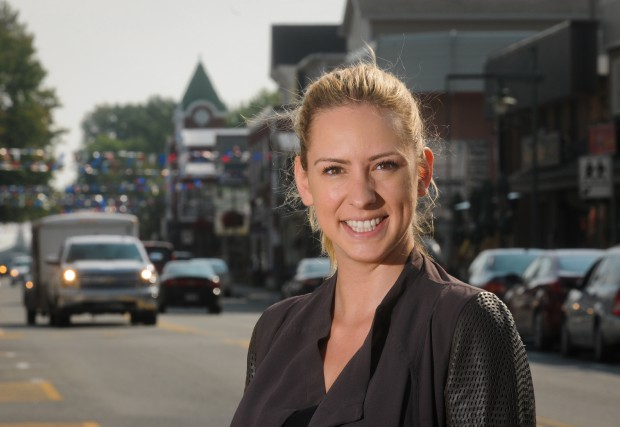 Ruth Ellen Brosseau a remporté la circonscription de... (Photo François Gervais, archives Le Nouvelliste)