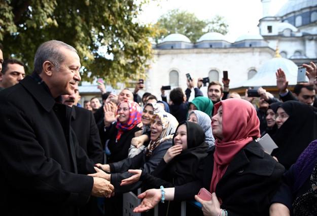 «Erdogan se comporte de plus en plus, après... (PHOTO AGENCE FRANCE-PRESSE)