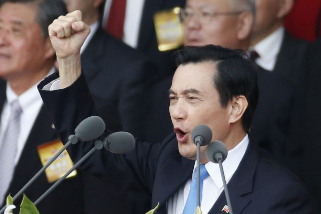 Le président taïwanais Ma Ying-jeou (photo) discutera avec... (Wally Santana)
