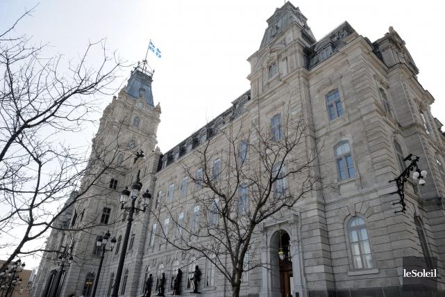 L'Assemblée nationale, à Québec... (Le Soleil, Erick Labbé)