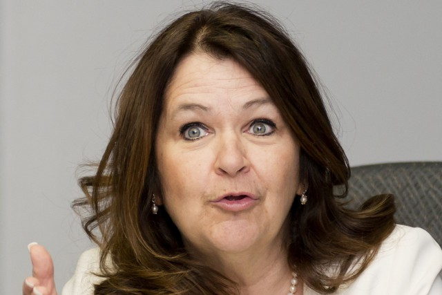 Suzanne Roy est présidente de l'Union des municipalités... (Archives, La Tribune)