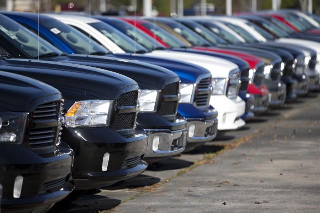 Le «Big Three» - General Motors, Ford et... (PHOTO JOHN BAZEMORE, ASSOCIATED PRESS)