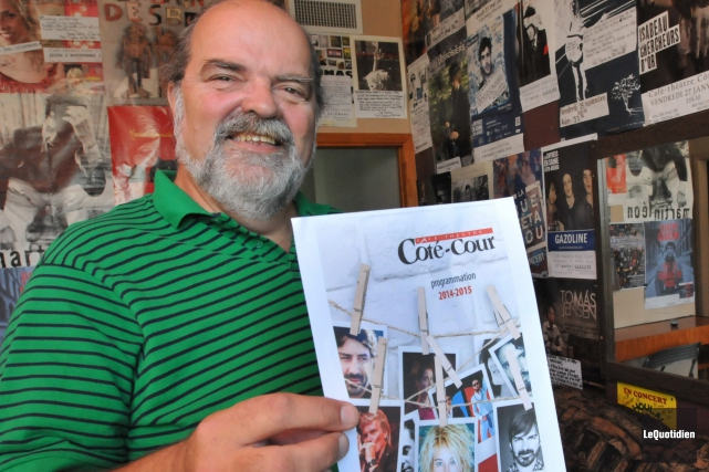 Réjean Bouchard était devenu indissociable du Côté-Cour, dont... (Archives Le Quotidien, Michel Tremblay)