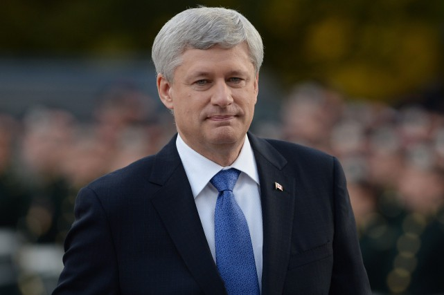 Stephen Harper... (Sean Kilpatrick, Archives PC)