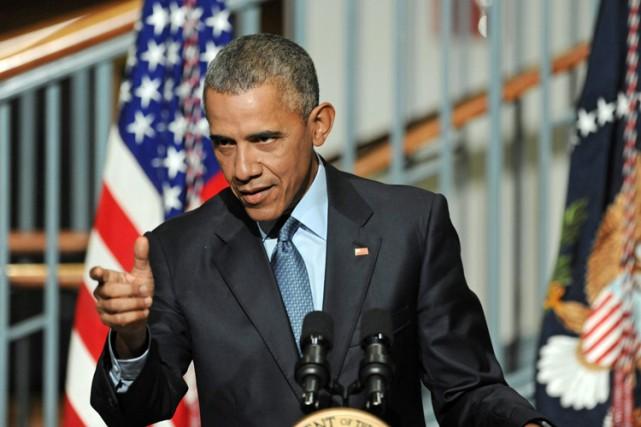 Début octobre, Barack Obama avait jugé peu probable... (PHOTO AP)