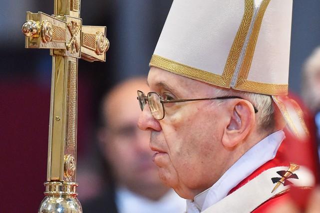 Le pape François... (AFP, Vincenzo Pinto)